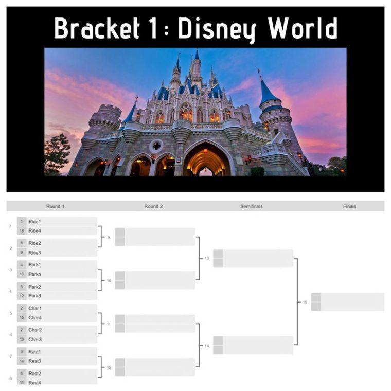 Disney Bracket