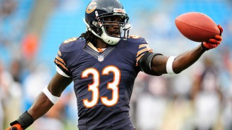 CHARLOTTE, NC - AUGUST 09: Charles Tillman #33 of the Chicago Bears against the Carolina Panthers during a preseason NFL game at Bank of America Stadium on August 9, 2013 in Charlotte, North Carolina. The Panthers won 24-17. (Photo by Grant Halverson/Getty Images)
